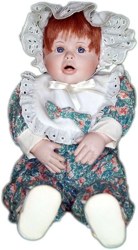 Collector Doll - Peek-A-Boo Beckie Doll by Terri DeHetre -Material Culture