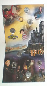 Harry Potter Reelcoinz Collector Board plus all 12 Medallions London Ontario image 4