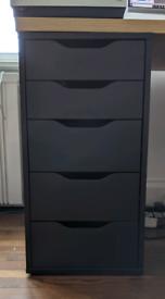 SOLD - IKEA Alex Drawer Unit