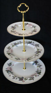 ROYAL WORCESTER 3 TIER CAKE STAND