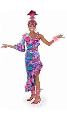 Samba Kleid Kostüm Spanier Tanz Salsa Rio Sambakleid Salsakostüm Brasilien Damen