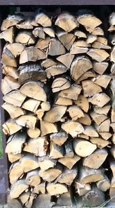 1/4 Face Cord Unseasoned Hickory Hardwood Firewood - St. Thomas