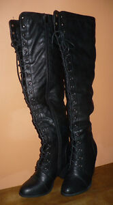 Over the knee boots- 2 pairs