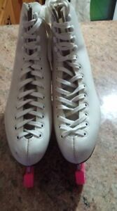 Womans Leather Figure Skates - Size 8 - Risport Star