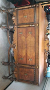 Antique walnut buffet / sideboard