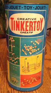 VINTAGE THE ORIGINAL TINKERTOY TOY NO.65150 USA. WOODEN PLAYSET Gatineau Ottawa / Gatineau Area image 5