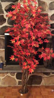 Arbre d'automne décoratif artificiel