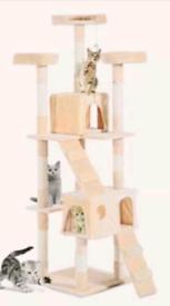 Extra large heavy duty cat tree scratch post activity centre cat climb