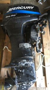 Outboard for sale or trade for tractor with bucket
