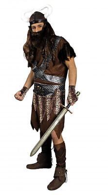 Wikingerkostüm Hunne Barbar Kostüm Gote Mongolen Wikinger Helm -