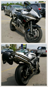 04 R6 SPECIAL FLAME EDITION CUSTOM R1 STYLE EXHAUST