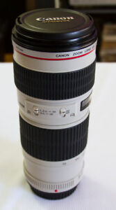 CANON EF LENS 70-200 mm L f4 Non IS: 650.00