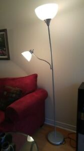Bright Floor Lamp with Reading Light
