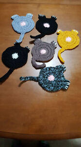 CAT BUTT COASTERS  $4 each 6/$20