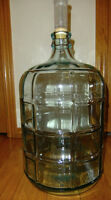 Wine 5 Gallon Glass Carboy  Airlock & Stopper Included $20.00 Ea