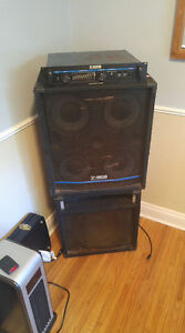 Yorkville bass amp. Combo 400 watts + cabinet