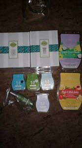 Large Scentsy bundle - warmer, wax bar, bricks and room spray