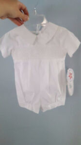 Baby baptism romper / outfit