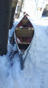 12 ft fiberglass canoe...[and other boats and accesories]