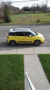 Fiat 500 L 2014  Jaune à Vendre