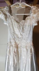 Wedding & matching flower girl dress.