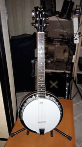 DEAN BACKWOODS 6 STRING BANJO