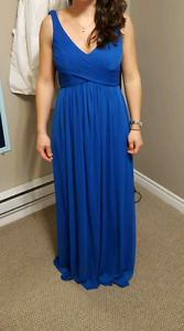 David's bridal Dress -  Blue Horizon/royal blue