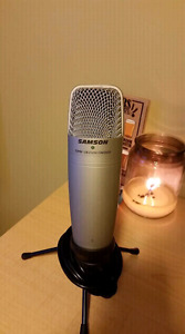 Samson CO1U USB Condenser Mic with Stand