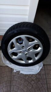 Ford Fiesta SE Winter Tires with Rims