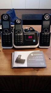 Téléphone sans fils avec répondeur !