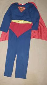 Dress up costome spiderman superman transform bumblebee bundle 7-8 yr