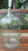 Wine 6 Gallon Glass Carboy  Airlock, Stopper $25.00