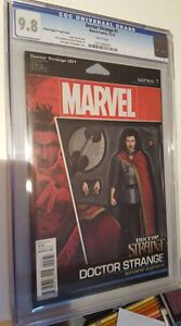 Doctor Strange #1, CGC Graded 9.8, Action Figure Variant Cover