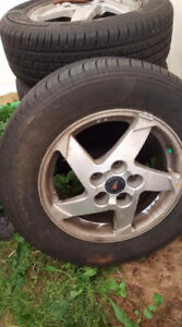 Tires and rims 225 60R 16