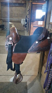 "Bob Marshall Treeless ""16 Trail Saddle"