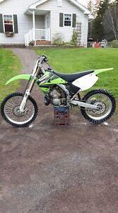 2004 KX 250 Dirt Bike