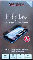 NEW InvisibleShield by ZAGG iPhone6 HD Glass UV Screen Protector