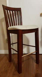 Very strong 4 wooden chairs