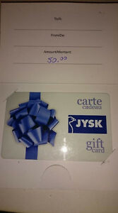 $50 JYSK Gift Card for $40