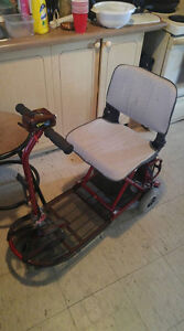 i have a electric fold and go scooter for sale