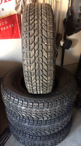 Studded Winterforce Tires 245/75/16