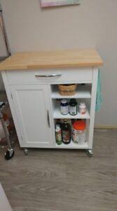 Microwave/kitchen cart
