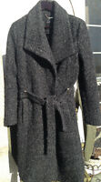 Ivanka Trump women's charcoal M Coat