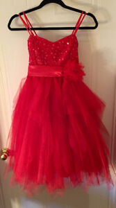 Red Sparkly Dress for kids