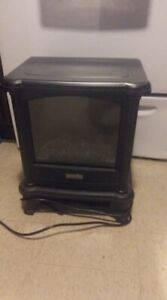 ELECTRIC FIREPLACE HEATER;