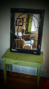 DISTRESSED ARTISTIC MIRROR!!!!!!