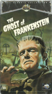 vhs - NEW The Ghost Of Frankenstein-  sealed-  Lon Chaney Jr