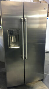 """GE Cafe counter depth side by side with water & ice 36"""" $1899"""