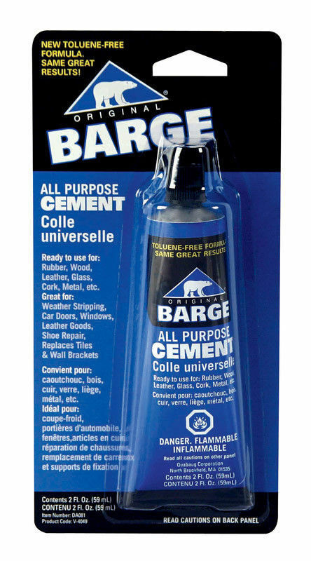 Barge Original All Purpose HIgh Strength Cement Toluene Free Tube – 2 oz Adhesives & Tape