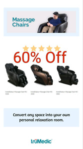 ☆BLOWOUT SALE☆Massage Chairs